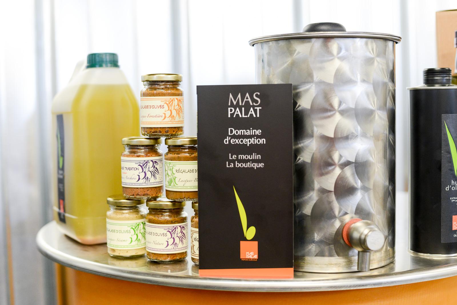Les huiles d'olive et les produits du terroir de l'Hérault