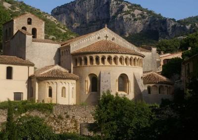 L'abbaye de St-Guilhem-le-Désert