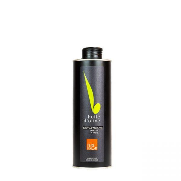 Bouteille d'huile d'olive aromatisée à l'ancienne 50CL