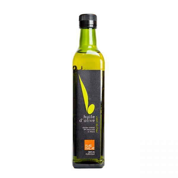 Bouteille d'huile d'olive fruité vert Frantoïo