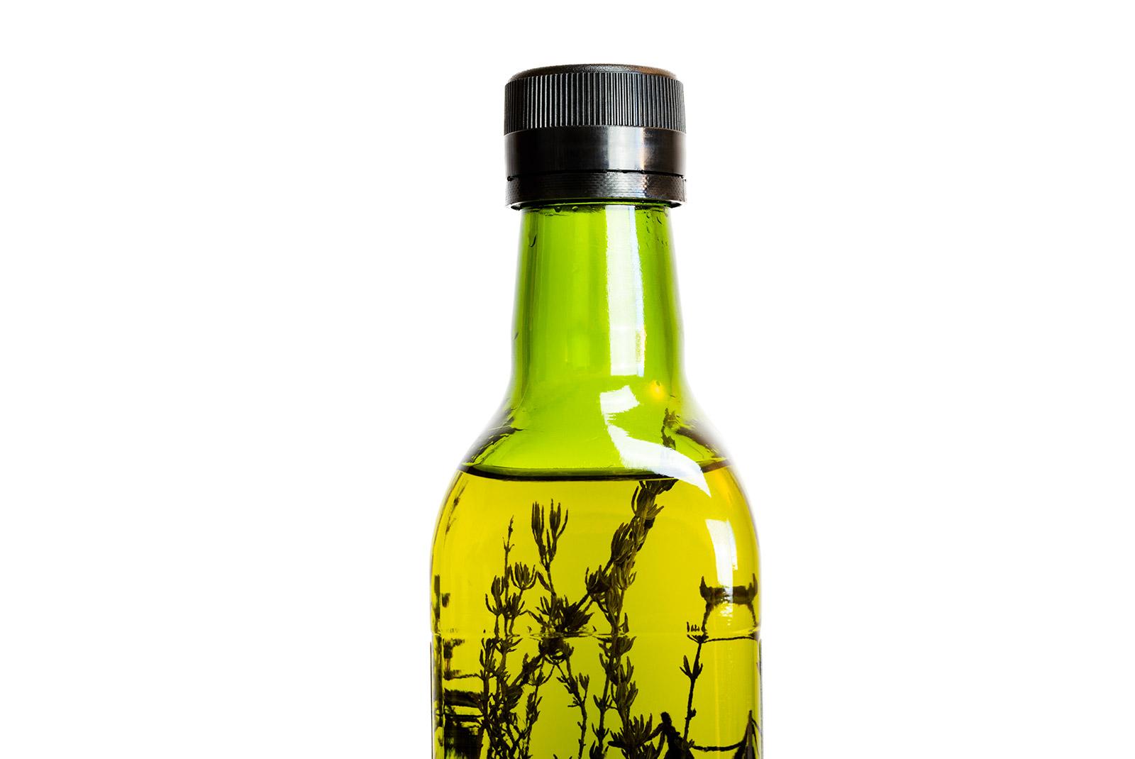 Différentes Variétés De Thym huile d'olive vierge extra , thym romarin 50cl